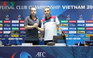 Thái Sơn Nam quyết tâm giành hạng 3 ở giải fusal các CLB châu Á