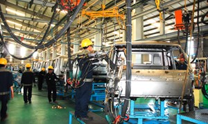 Tháng 2, chỉ số sản xuất công nghiệp cả nước tăng gần 8%