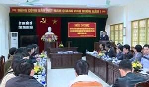Thanh Hoá: Bàn giao danh sách chính thức người ứng cử ĐBQH và HĐND tỉnh