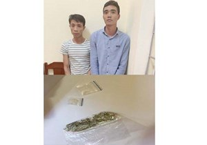Thanh Hoá: Bắt quả tang 2 đối tượng tàng trữ và mua bán ma tuý