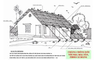 Thanh Hóa: Xây dựng nhà tránh trú bão cho nhân dân