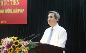 'Thay đổi tư duy và cách tiếp cận về giảm nghèo bền vững'