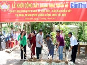 Thêm một mái ấm Đại đoàn kết tại huyện Thới Lai