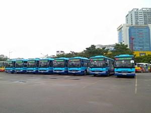 Thêm tuyến xe buýt đisân bay Nội Bài giá vé 8000 đồng