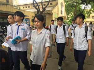 Thi vào lớp 10 tại Hà Nội: Thí sinh thở phào...