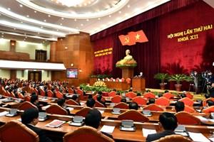 Thông báo Hội nghị lần thứ hai Ban Chấp hành Trung ương Đảng khóa XII