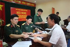 Thông tư điều chỉnh trợ cấp đối với quân nhân đã phục viên, xuất ngũ