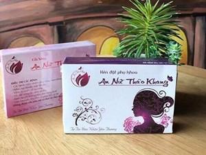 Thu hồi số tiếp nhận phiếu công bố sản phẩm mỹ phẩm An nữ thảo khang, Vĩnh Xuân Hồng
