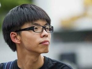 Thủ lĩnh biểu tình ở Hồng Kông Joshua Wong hầu toà