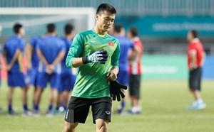 Thủ môn Bùi Tiến Dũng muốn thắng Olympic Hàn Quốc trong 90 phút