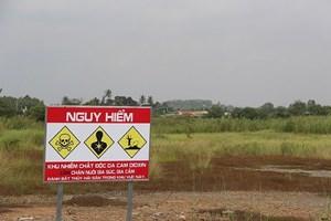Thử nghiệm công nghệ mới xử lý dioxin ở sân bay Biên Hòa