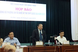 Thứ trưởng Bộ GD&ĐT Bùi Văn Ga: Bộ đã tiếp thu ý kiến