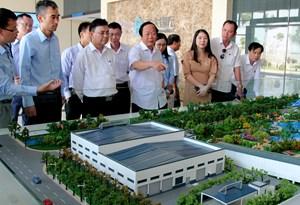 Thứ trưởng Bộ TN-MT khảo sát hoạt động nhà máy xử lý rác tại Cần Thơ