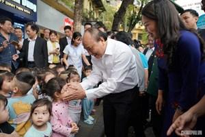 Thủ tướng: Lấy hạnh phúc, an toàn của phụ nữ, trẻ em là mục tiêu hành động