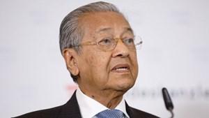 Thủ tướng Mahathir: Malaysia sẽ 'nghèo đi' nếu không hủy dự án 20 tỷ USD với Trung Quốc