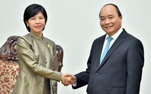 Thủ tướng Nguyễn Xuân Phúc tiếp Đại sứ Canada, Qatar