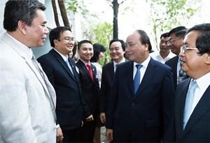 Thủ tướng thị sát Làng Đại học Đà Nẵng