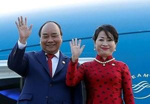 Thủ tướng và Phu nhân dự Hội nghị Cấp cao ASEAN lần thứ 33