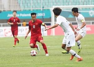Thua đáng tiếc Hàn Quốc, Olympic Việt Nam chờ tranh huy chương đồng ASIAD