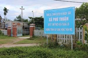 Thừa Thiên –Huế: Thêm 3 xã về đích nông thôn mới