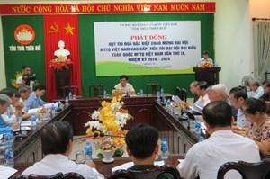 Thừa Thiên - Huế:Phát động đợt thi đua đặc biệt chào mừng Đại hội Mặt trận các cấp