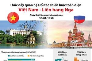 Thúc đẩy quan hệ Đối tác chiến lược toàn diện Việt Nam-Liên bang Nga