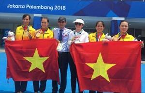 Thưởng nóng cho hai VĐV Quảng Bình đạt thành tích xuất sắc tại ASIAD 18