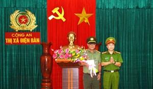 Thưởng nóng Công an thị xã Điện Bàn phá đường dây cho vay nặng lãi
