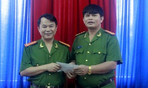 Thưởng nóng Phòng CSHS phá thành công nhóm cướp ở mỏ vàng Bồng Miêu
