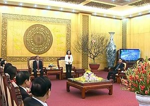Thường trực Ban Bí thư Đinh Thế Huynh thăm và làm việc tại Ninh Bình