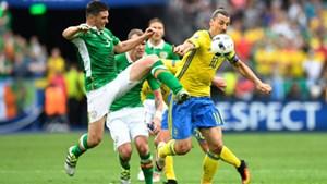 Thụy Điển 1-1 Ireland: Thụy Điển hòa may mắn