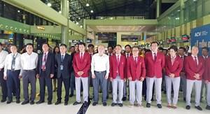 Tiễn đoàn Thể thao Việt Nam tham dự ASIAD 2018