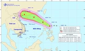 Tiếp tục xuất hiện cơn bão mới gần Biển Đông