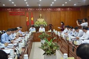 Tiểu ban văn kiện Đại hội XIII làm việc tại tỉnh Bà Rịa - Vũng Tàu
