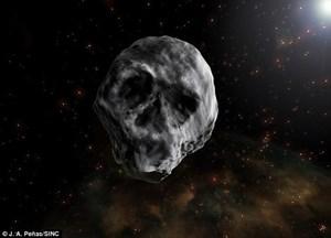 Tiểu hành tinh đầu lâu tiến gần trái đất