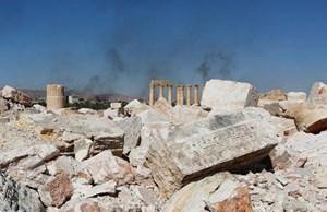 Tìm thấy hố chôn tập thể tại Palmyra