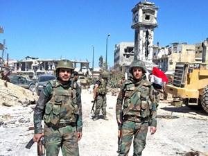 Quân đội Syria mở chiến dịch truy quét khủng bố