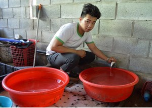 Người dân Hội An thiếu nước