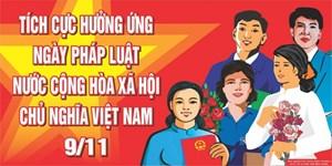 Tổ chức các hoạt động hưởng ứng Ngày Pháp luật Việt Nam năm 2016