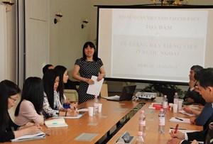 Tổ chức tọa đàm về các phương pháp giảng dạy tiếng Việt tại Đức