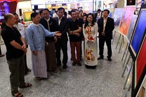 Tổ chức triển lãm tranh Việt Nam – Myanmar