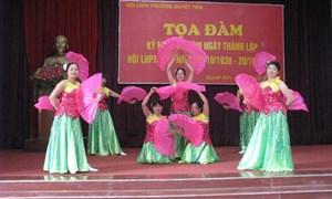 Tọa đàm kỷ niệm 86 năm Ngày thành lập Hội Liên hiệp Phụ nữ Việt Nam