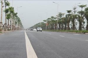 Toàn cảnh tuyến đường Xa La - Nguyễn Xiển qua Khu đô thị Mường Thanh Thanh Hà
