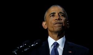 Toàn văn phát biểu chia tay của Tổng thống Obama
