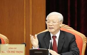 Tổng Bí thư, Chủ tịch nước chủ trì Hội nghị lần thứ mười Ban Chấp hành Trung ương Đảng khoá XII