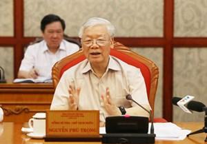 Tổng Bí thư, Chủ tịch nước: Chuẩn bị và tổ chức thật tốt đại hội đảng bộ các cấp