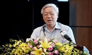 Tổng Bí thư: Giữ vững chủ quyền nhưng phải tạo môi trường hòa bình ổn định
