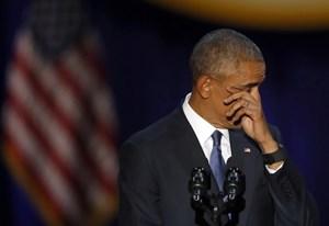 Tổng thống Barack Obama kêu gọi đoàn kết trong bài phát biểu từ biệt