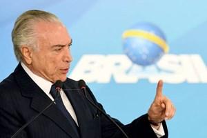 Tổng thống Brazil Michel Temer bị buộc tội tham nhũng