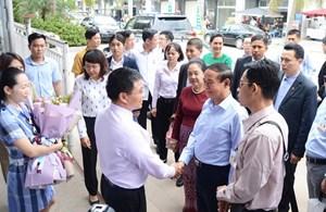 Tổng thống Myanmar và Đoàn công tác dự Vesak 2019 thăm vịnh Hạ Long
